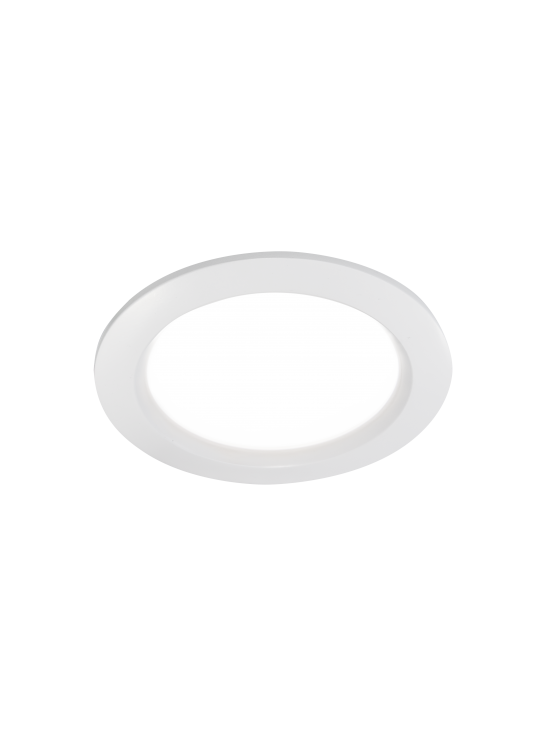 Canoa Round LED downlight wit