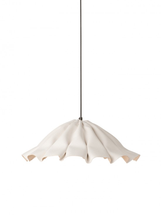 Lude S hanglamp - Wit