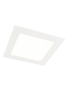 Canoa Square LED downlight wit