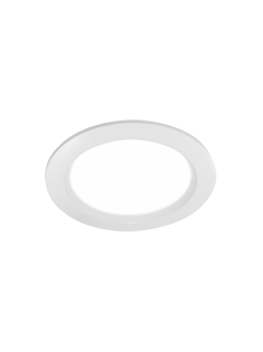 Canoa Round LED downlight wit Incl. driver en 1,5m snoer