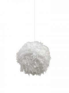 Feather hanglamp - Wit
