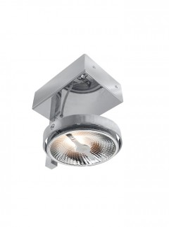 Chique 1-lichts AR111 LED chroom Exclusief lichtbron