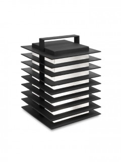 Stack Tafellamp outdoor - zwart  By Piet Boon
