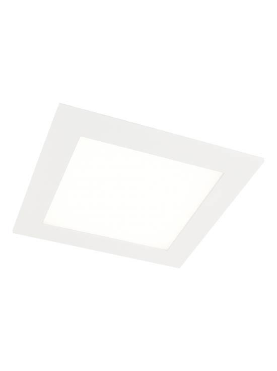 Canoa Square LED downlight - wit