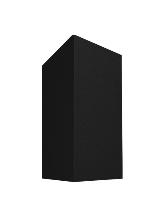 TUBE CUBE wandlamp up/down - zwart