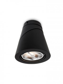 CONE opb.arm. AR111 LED-zwart by Osiris Hertman