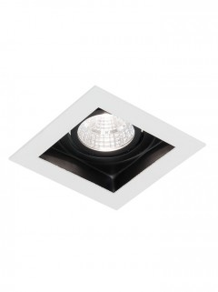 SQUARE HIDE BIG LED 7W - wit