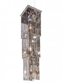 MONROE chandelier - chroom by Eric Kuster