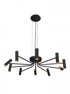 HICKS Chandelier LED by HIP Studio zwart structuur