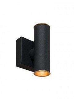 Hicks Wall LED - zwart structuur by HIP Studio