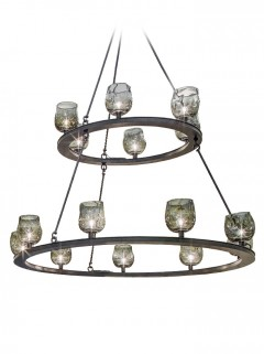 Duchess Chandelier 15-Lichts - zwart by HIP Studio