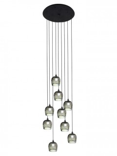 Duchess Round Suspended - zwart by HIP Studio