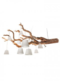 OAK hanglamp 9-L - naturel by Eric Kuster