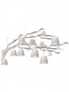 Oak hanglamp 16-L - wit by Eric Kuster