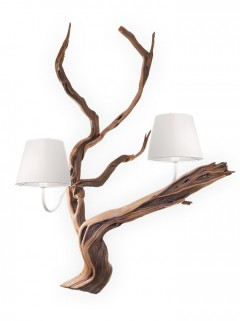OAK wandlamp 2L - naturel By Eric Kuster