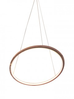 LUXURY RING 12V Ø80 cm - antiek messing