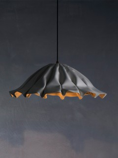 Lude S hanglamp - wit by Piet Boon