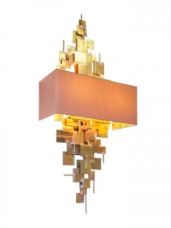 ABE wandlamp - ruw messing By LOTZ Design