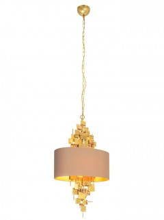 ABE hanglamp S - ruw messing By LOTZ Design