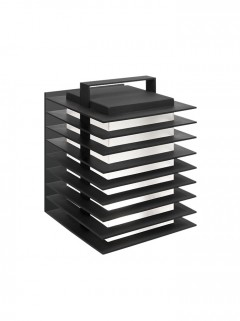 Stack Wall  outdoor - zwart by Piet Boon