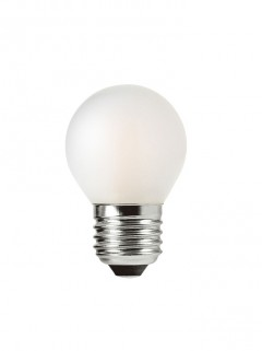 ATMOS P45 kogel LED 3,5W E27 - frosted - dimbaar