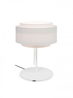 Halo Table white shade white