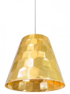 Hexagon XL hanglamp - goud by Osiris Hertman