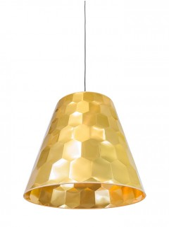 Hexagon L hanglamp - goud by Osiris Hertman