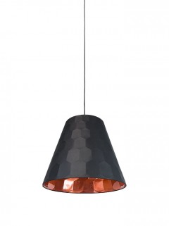 HEXAGON XS hanglamp- zwart/koper by Osiris Hertman